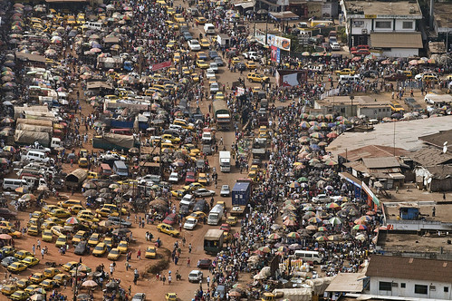 Aerial view of Monrovia by United Nations Photo, on Flickr