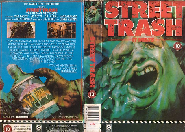 Street Trash (VHS Box Art)