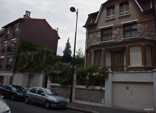 Les parisiens qui habitent dans une maison ont bien de la chance