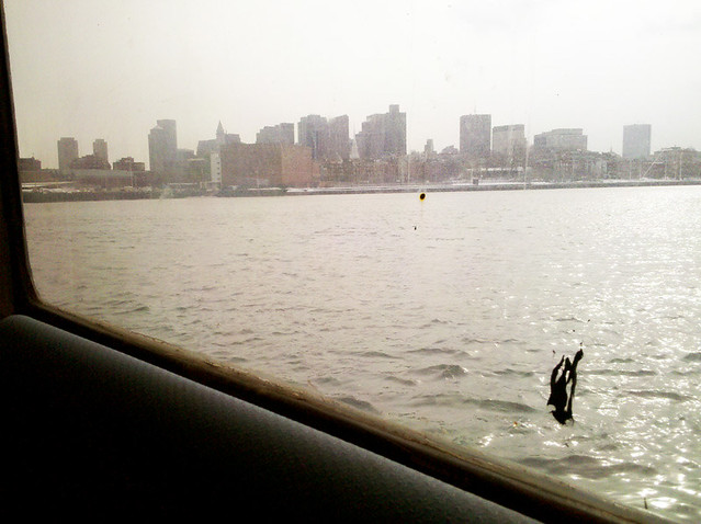 Boston from the ferry