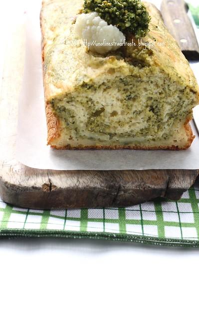 Cake variegato ai due cavoli