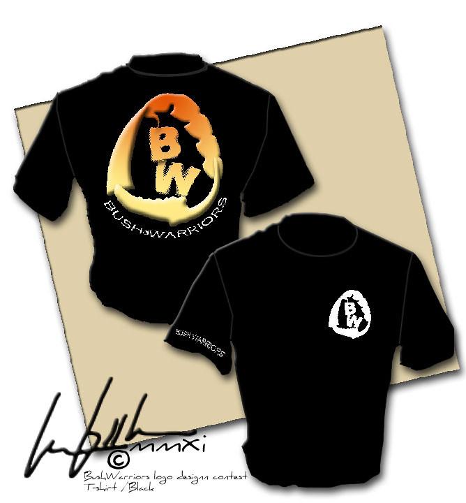 Bush Warriors: logo design |Tshirt