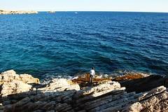 Pesca a Cala Rotja, Mallorca (MARIA ROSA FERRE) Tags: cala ratjada wleplib58014