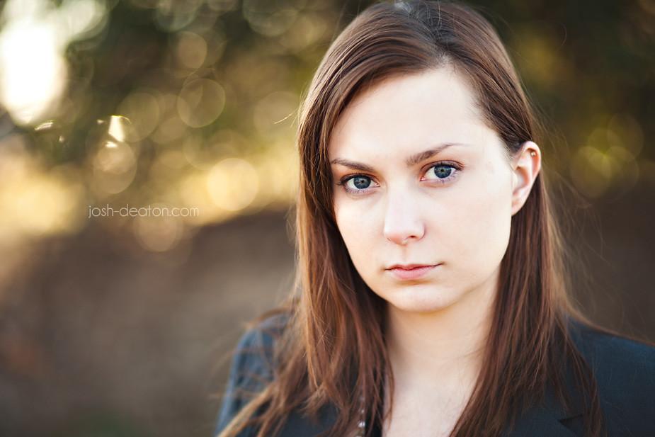 Как сделать портретное фото на canon