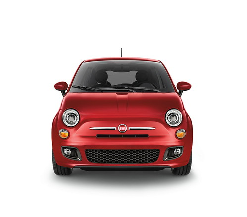 New 2012 Fiat 500 in Rosso Brillante