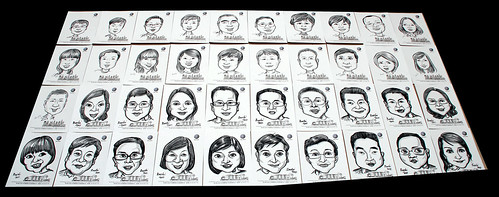 caricatures for Pico Art and Volkswagen - 9