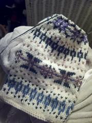 Hermione's Fair Isle scarf