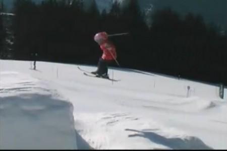 Kelly Sildaru - neuvěřitelná 9letá lyžařka
