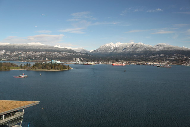 The View from the Pan Pacific Vancouver