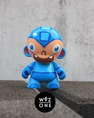 """8"""" MegaMan Munny (WuzOne) Tags: toy vinyl kidrobot custom dunny megaman munny artoy wuzone"""
