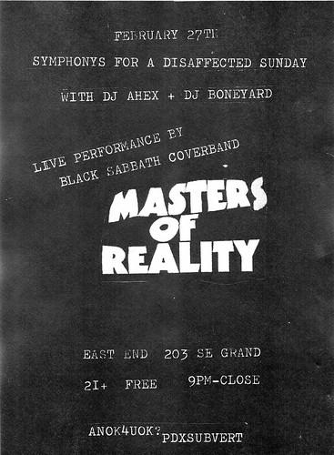 2/27/11 MastersOfReality