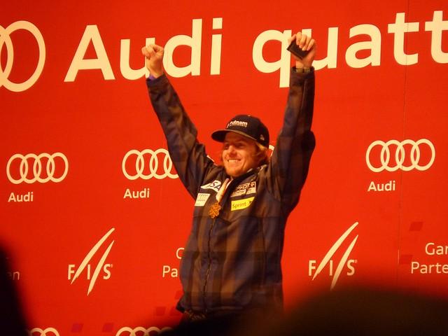 Dritter im Riesentorlauf: Philipp Schörghofer