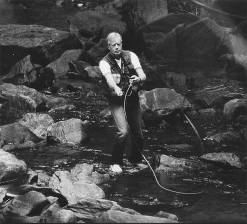 President-Jimmy-Carter-fishes-at-Camp-David