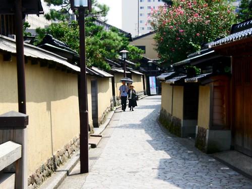 Kanazawa, Camino Samurai