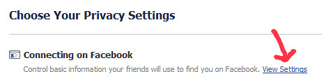 search privacy in facebook 2