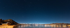 Nightfall on Lake Chelan (absencesix) Tags: longexposure nightphotography travel blue winter panorama usa lake mountains cold nature water colors stars washington solitude seasons unitedstates iso400 wideangle calm noflash nighttime northamerica stillwater february 16mm solitary chelan lightandshadow locations startrails cascaderange lakechelan locale centralwashington 2011 manualmode 1635mm canoneos1dsmarkii timeofday astronomicalobject camera:make=canon geo:state=washington exif:make=canon exif:iso_speed=400 objectsthings hasmetastyletag naturallocale adjectivesfeelingdescription 180degreepanorama exif:focal_length=16mm 1200secatf56 selfrating5stars geo:countrys=usa exif:lens=160350mm exif:model=canoneos1dsmarkii camera:model=canoneos1dsmarkii exif:aperture=56 subjectdistanceunknown 2011travel february192011 centralwashington0218201102202011 geo:lon=12005351614285 geo:city=chelan geo:lat=4783666657143 475012n12031266w chelanwashingtonusa