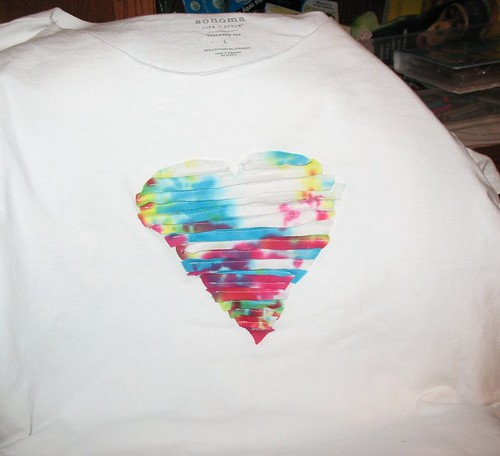 heart tshirt by Michelle