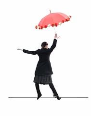 strani equilibri (Franco Gallo/ detto il PintoGrafo) Tags: art arte cappello artista ombrello acrobata ombrella francogallo pintografo