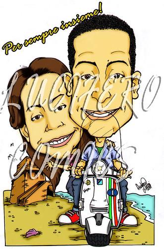 caricatura regalo