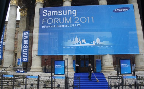 Samsung Euroforum 2011 (video reportažas)