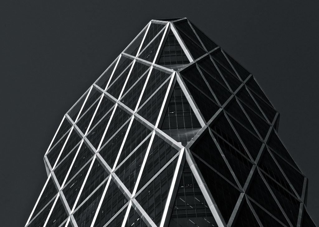 Hearst Geometry B&W