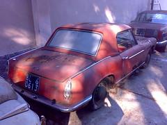 INNOCENTI 950 - 1961/69 -rear view- (blugrigio) Tags: old car vintage junkyard innocenti