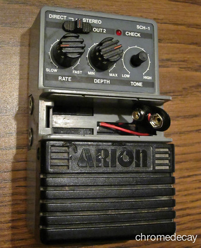 Arion SCH-1 analog chorus: 9V clip fixed!