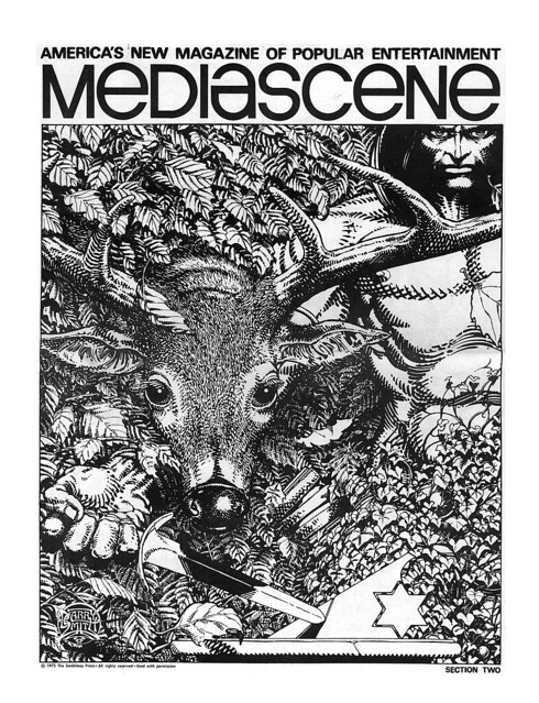 Barry Smith Mediascene 1975 cover