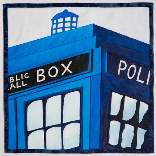 TARDIS Quilt