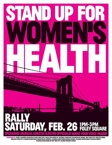 womens health flier