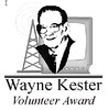 The Wayne Kester Volunteer Award