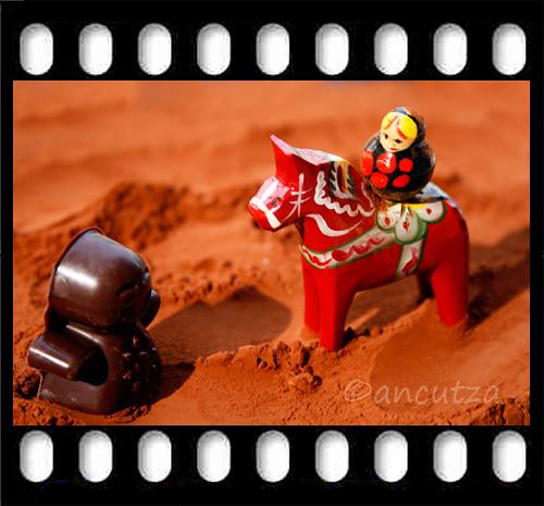 la matrioska nel deserto di cacao: l'incontro