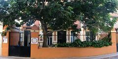 entrada del centro