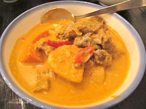 kiki Thai cafe 馬薩曼咖哩牛肉