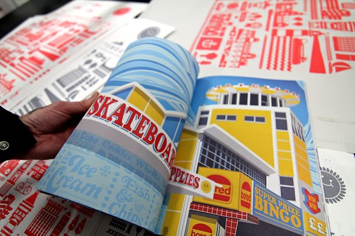 Creative Portsmouth Book - new colour screenprints