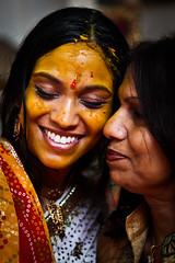 Shraddha's Haldi Ceremony (Eyebeam Photography) Tags: wedding india yellow tattoo photography indian ceremony edward ritual henna mehndi haldi shraddha eyebeam weddian strennen heritage2011
