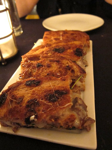 grilled cheese sandwich with short rib
