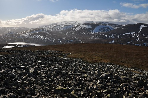 Beinn Avon from Meikle Geal Charn