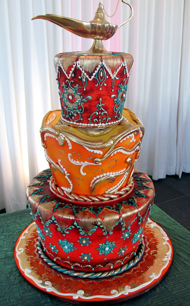 Moroccan decorating style moroccan decorating birthday for Arabian cake decoration