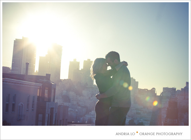 Antonia & Chris   San Francisco Engagement Shoot  by orange photography