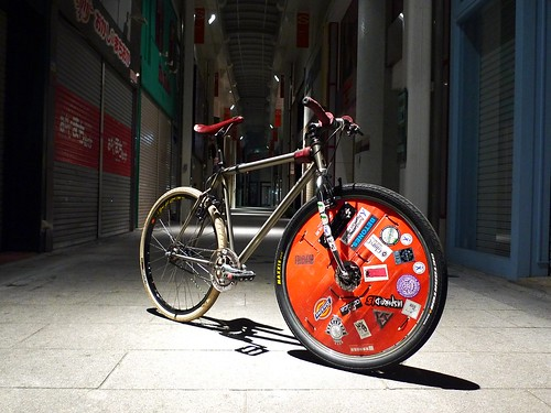 2nd Prototype of YABUSAME, Only for Bikepolo, Made in Japan.