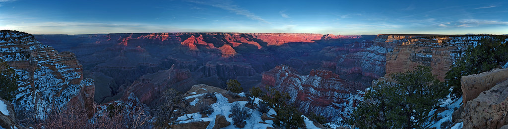 Powell Memorial Sunset, Grand Canyon, Arizona
