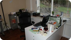 Basement Office Before 2
