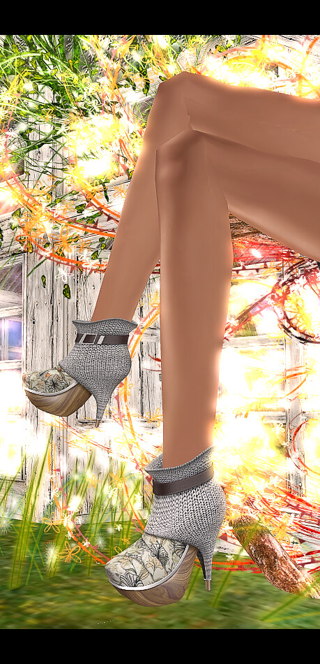 +ADDiCTIA+ ORGANIKA Ankle Boots: Knitted Grey **NEW**