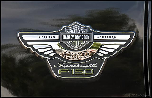 ford pickup badge harleydavidson 2007 fordfseries