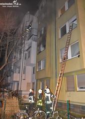 Feuer Mehrfamilienhaus Darmstadt 04.03.11