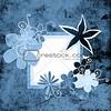 floral frame colorful floral frame
