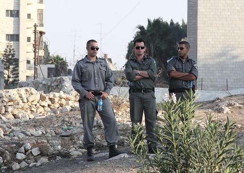 untagged policemen