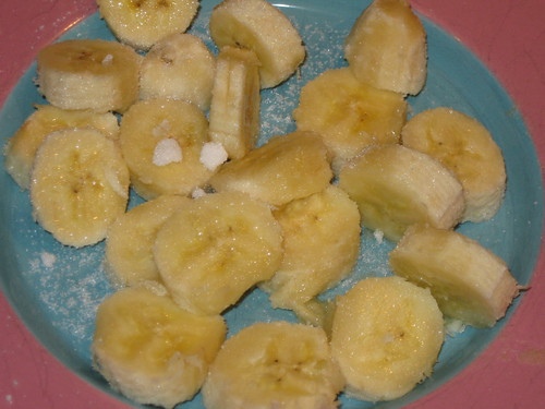 sugared banana