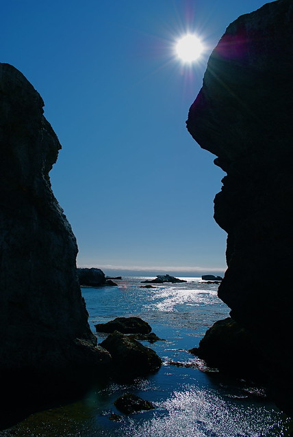 Travel Photo Roulette: Shell Beach, California. Copyright by two4travel.net
